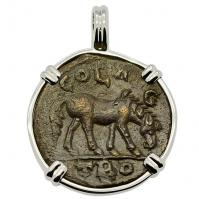 SOLD Horse & Tyche Pendant; Please Explore Our Roman Category For Similar Items.