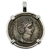 SOLD Saint Helena Follis Pendant; Please Explore Our Roman Pendants For Similar Items.