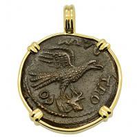 Eagle & Tyche Pendant