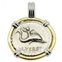 SOLD Genius on Dolphin & Neptune Denarius Pendant; Please Explore Our Greek Pendants For Similar Items.