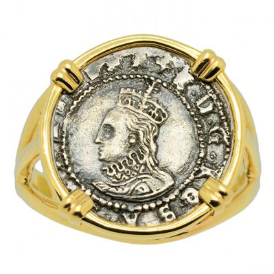 SOLD Queen Elizabeth I Penny Ladies Ring. Please Explore Our Ladies Rings For Similar Items.