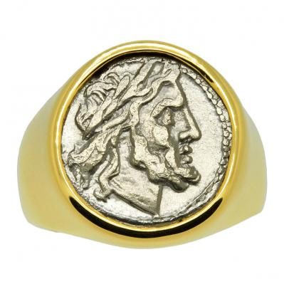SOLD Jupiter and Victory Victoriatus Men's Ring. Please Explore Our Men's Rings For Similar Items.
