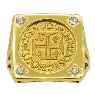 Portuguese 400 Reis Ladies Ring