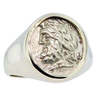 Zeus & Pan Triobol Men's Ring