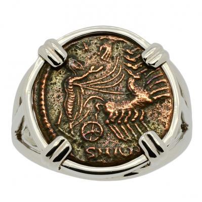 Constantine Hand of God Follis Ladies Ring