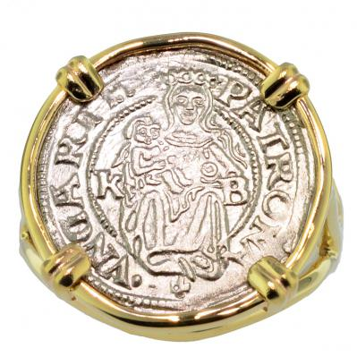 SOLD Madonna and Child Denar Ladies Ring; Please Explore Our Ladies Rings For Similar Items.