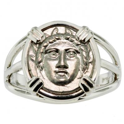 Gorgon & Anchor Diobol Ladies Ring