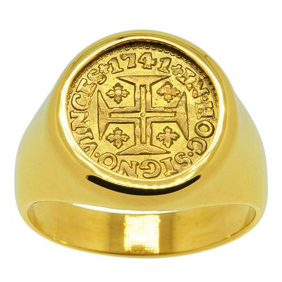 Portuguese 400 Reis Men's Ring