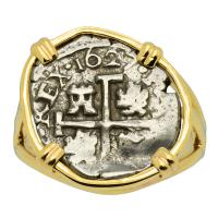 King Philip IV Half Real Ladies Ring