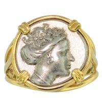 SOLD Nymph Histiaia Tetrobol Ladies Ring; Please Explore Our Ladies Rings For Similar Items.