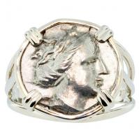 Nymph Histiaia Tetrobol Ladies Ring