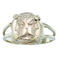#7303 Janiform & Athena Diobol Ladies Ring