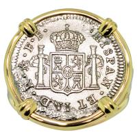 #8653 El Cazador Shipwreck 1/2 Real Ladies Ring