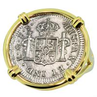 SOLD El Cazador Shipwreck 1/2 Real Ladies Ring; Please Explore Our Ladies Rings For Similar Items.