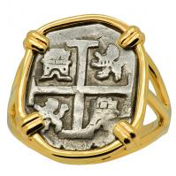 SOLD King Charles II Half Real Ladies Ring; Please Explore Our Rings For Similar Items.