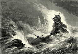 11 treasure ships sank in a hurricane off the coast of Florida in 1715